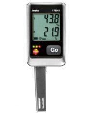 Гигрометр Testo 175 H1 — Логгер данных температуры и влажности с интегрированным внешним зондом