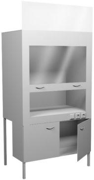 Вытяжной шкаф НВ-1200 ШВ-ПП-О (1100*700*1960)