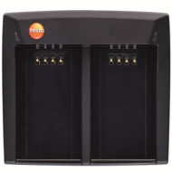 Блок питания для зарядки двух аккумуляторов для Testo 876,885,890 (0554 8851)